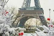 На Эйфелевой башне можно будет покататься на коньках. // tout-paris.org