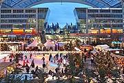Под крышей аэропорта – рынок и каток. // Flughafen München GmbH