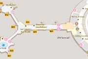 Фрагмент схемы аэропорта Сан-Франциско на Google.Maps // Travel.ru