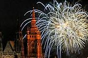 В Праге на Новый год состоится пиротехническое шоу. // planetware.com