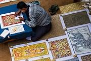 Туристы охотно покупают уникальные рисунки. // duncandavidson.com