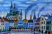 Выставка одного из известных примитивистов открылась в Польше. // michouportrait.blogspot.com