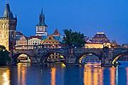 Ночная Прага // iStockphoto / benedek