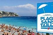 "Пляж в Ницце станет ""некурящим"". // cbnews.fr"