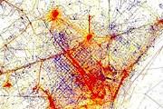 На карте разными цветами обозначены излюбленные места фотографирования местных жителей и туристов. // diariodelviajero.com