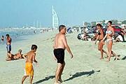 На пляже в Дубае // travelingdubai.com