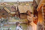 В музее представлен квартал древнего города. // denisov-dnevnik.livejournal.com