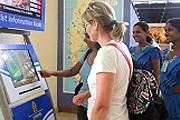 Первые терминалы установлены в аэропорту Коломбо. // srilankaembassy.org