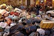 В Палермо новая волна мусорного кризиса. // france24.com