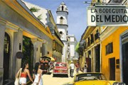 La Bodeguita del Medio - популярное место в Гаване. // Klaus Dietrich