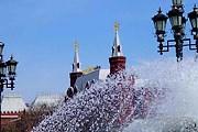 В Москве начался сезон фонтанов. // fotocomp.chat.ru