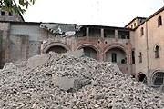 Крепость в Сан-Феличе-суль-Панаро получила повреждения. // haisentito.it