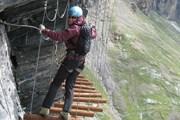 Via ferrata проложена на высоте 2300 метров. // Туристический офис Швейцарии