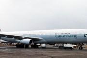 Самолет Cathay Pacific в Москве // Travel.ru