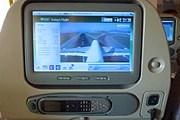 Экран бортовой системы развлечений Emirates // Travel.ru