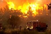 Из-за пожаров началась эвакуация людей. // mysardinia.com