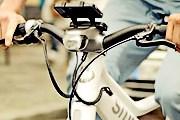 Электровелосипеды оснащены iPhone. // facebook.com / smart ebike