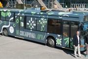 Маршрут автобуса охватывает весь город. // lahti.fi