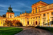 """Дворец в Виланове - """"польский Версаль"""". // fotogalerie.pl"""