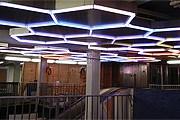 Световая инсталляция на станции Bleeker Street // inhabitat.com