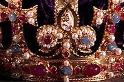 Фрагмент восстановленной короны Генриха VIII / guardian.co.uk