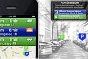 Новое приложение поможет найти место на парковке. // sofortparken.at