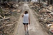 И спустя 7 лет после урагана туристы приезжают посмотреть на разрушенный район. // photochronograph.ru