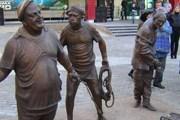 Памятник Трусу, Балбесу и Бывалому уже есть в Перми. // permnew.ru