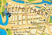 Все объекты на карте имеют альтернативные названия. // automaps.ru
