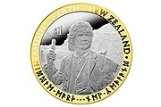 Монета с Бильбо Бэггинсом в исполнении Мартина Фримена // AFP