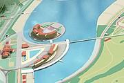 На берегах озера разместятся отели и пляжи. // altay-valley.ru