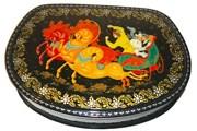 Палех - известный центр лаковой миниатюры. // russian-souvenirs.ru