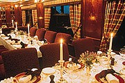 В поезде The Royal Scotsman  - два вагона-ресторана. // luxuryscotland.co.uk