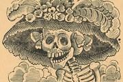 """Гравюра """"Катрина"""" стала символом Дня Мертвых. // Wikipedia"""
