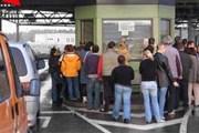 КПП обслуживают тысячи туристов в сутки. // madeinpiter.ru