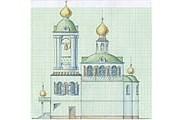 Проект Покровского собора в Паттайе // orthodox.or.th