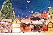 В Чехии открылась рождественская ярмарка. // telegraph.co.uk