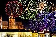 Фейерверк в Праге будет дан не в новогоднюю ночь. // prague-online-guide.com