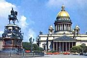 Исаакиевский собор – одна из популярнейших достопримечательностей Санкт-Петербурга. // vmoskvy.ru
