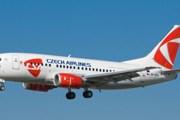 Самолет авиакомпании CSA Czech Airlines // csa.cz