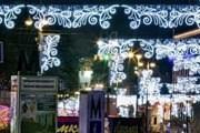 Новогодняя иллюминация Майдана Незалежности в Киеве // interesniy-kiev.livejournal.com