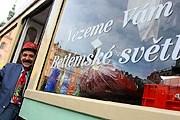 В городе можно прокатиться на праздничных трамваях. // brnensky.denik.cz