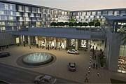 Отель расположен в центре города. // kempinski.com