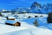 Валь-Гардена находится в Доломитовых Альпах. // Travel.ru
