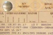 Билет РЖД. // Travel.ru