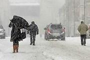 Снегопад обрушился на Францию, Германию и Бельгию. // Reuters