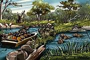 В парке представлены экосистемы десяти рек мира. // riversafari.com.sg