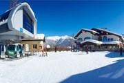 Курорт начинает запасаться снегом на следующий год. // rosaski.com