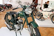 На выставке представлены модели разных лет. // belta.by