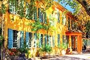 Отель разместился в старинной усадьбе. // domaine-delabaume.com